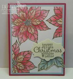 Stampin' Up! Joyful Christmas by Debbie Henderson, Debbie's Designs.