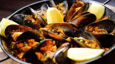 Paella a la Maestre - Masterchef Australia Seafood Dishes, Fish And Seafood, Seafood Recipes, Diet Recipes, Paella, Masterchef Recipes, Masterchef Australia, Some Recipe, Food To Make