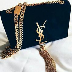 Jewelry Black Gold YSL Women Shopping Leather Metal Chain Crossbody Satchel Shoulder Bag from Saved to Things I want as gifts. - YSL Women Shopping Leather Metal Chain Crossbody Satchel Shoulder Bag from Saved to Things I want as gifts. Luxury Bags, Luxury Handbags, Fashion Handbags, Purses And Handbags, Fashion Bags, Designer Handbags, Designer Bags, Leather Handbags, Prada Handbags
