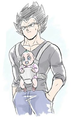 Hot daddy The amazing art of vegetaPSYCHO on Tumblr