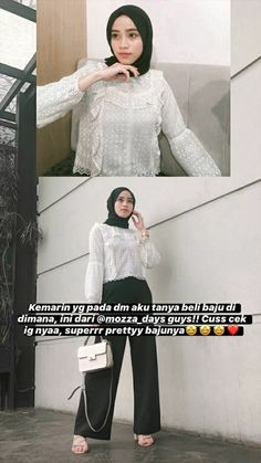 Casual Hijab Outfit, Ootd Hijab, Casual Outfits, Ootd Fashion, Modest Fashion, Fashion Outfits, Fashion Tips, Hijab Fashion Inspiration, Style Inspiration
