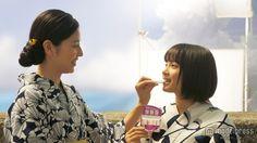 """長澤まさみ×広瀬すず、CM初共演で""""本物の姉妹""""と錯覚 - モデルプレス"""