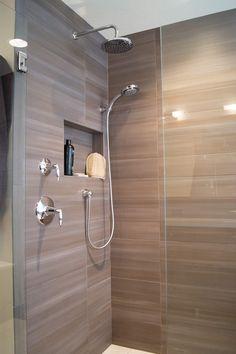 Bathroom rain shower heads bathroom rain shower heads modern master bathroom with large ceramic regarding rainfall Bathroom Shower Heads, Master Bath Shower, Modern Master Bathroom, Diy Shower, Tile Bathrooms, Tile Showers, Glass Showers, Shower Time, Master Bathrooms