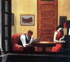 Hopper, Stanza a New York, 1932