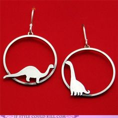 Dinosaurs! (I would never wear these but I LOVE dinos!)