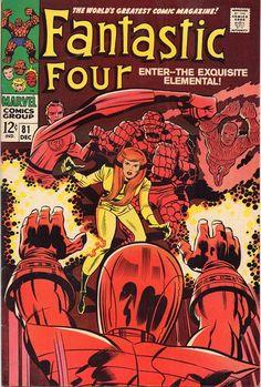 Fantastic Four #81.