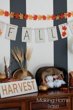 Great Ideas -- Fall Mantels!