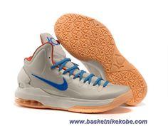 Nouveau Nike Zoom KD V Birch/Photo Bleu-Sail-Team Orange 554988 200