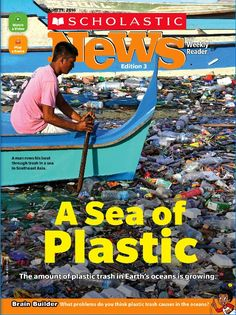 An article about the growing problem of plastic pollution in the world's oceans Science Week, Social Science, Science Experiments, Ocean Pollution, Plastic Pollution, Ocean Activities, Classroom Activities, Science Fair Projects Boards, Plastic In The Sea