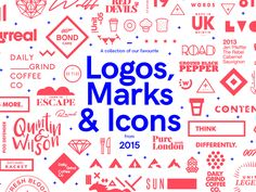 A collection of our favourite Logos, Marks & Icons created by Studio–JQ in 2015.  View the full collection here  Follow Studio–JQ   Behance | Twitter | Pinterest | Facebook | Instagram All Work...