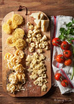 Photograph Assorted Pasta by George Crudo on 500px