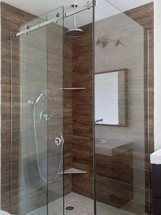Sliding Door Shower Enclosures For The Contemporary