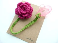 Any Color--Pacifier Clip--Crochet Flower pacifier clip--Baby Girl accessories--Sweetlace Shop by SweetlaceShop on Etsy https://www.etsy.com/listing/123062991/any-color-pacifier-clip-crochet-flower