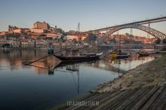 The Dom Luís I (or Luiz I) Bridge (Portuguese: Ponte Luís I or Luiz I) is a metal arch bridge that spans the Douro River between the cities of Porto and Vila Nova de Gaia in Portugal. At the time of construction its span of 172 m was the longest of its type in the world.