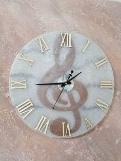 Orologio da Parete in Legno Numeri Classici Tondo Diametro 30cm Gifty Lab Orologio Personalizzato con la Tua Foto
