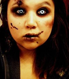 step by step Zombie Makeup
