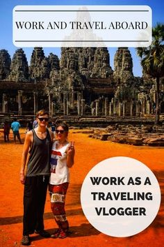 Work as a traveling Vlogger