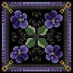 Схемы Martina Weber Kathy's Violets