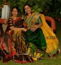 Latest Benarus Sarees in Gold Color | Saree Blouse Patterns