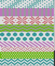 Tricksy Gráficas Knitter: Carta sin título de OctoStag Intarsia Knitting, Knitting Charts, Bead Loom Patterns, Knitting Patterns, Knitted Tea Cosies, Fair Isle Pattern, Purple Rose, Tapestry Crochet, C2c