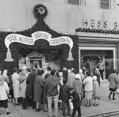 Things we don't see much anymore - going to see the local Christmas puppet show  - this one is from Allentown, PA - 1964