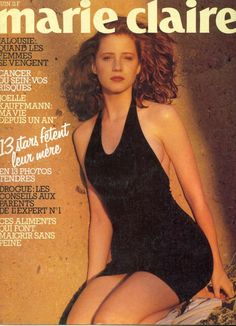Marie Claire cover, 1985? Shot in Morocco Photo: Christian Mozer