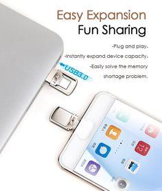 EAGET CU20 USB3.0 Type-C Pendrive USB OTG Type C 16GB 32GB 64GB Metal USB Flash Drive Dual Plug Office And School Supplies, Laptop Accessories, Plugs, Usb Flash Drive, Corks, Usb Drive