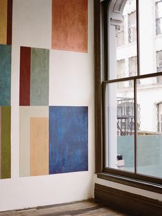 Wall art- contemporary inspiration, blocks for des - Murales Pared Exterior Home Interior, Interior Design Living Room, Interior Architecture, Interior And Exterior, Interior Styling, Magazine Cereal, Bauhaus, Casa Milano, Rivera