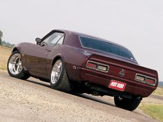 68 Chevy Camero #Cars #Speed #HotRod
