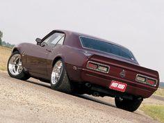 68 Chevy Camero #Cars #Speed #HotRod