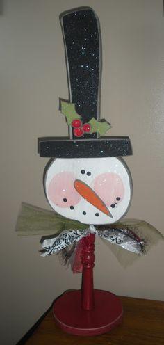 Make & Take: TALL Snowman