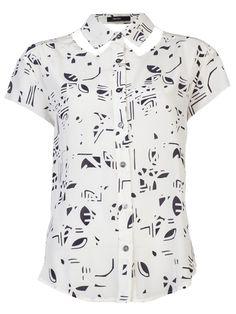 Funktional Value Cutout Collar Shirt