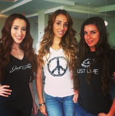 Throwback Thursday from last week's photo shoot! Clothing by us, hair by Blo Salom. All shirts are available at www.justlive.com