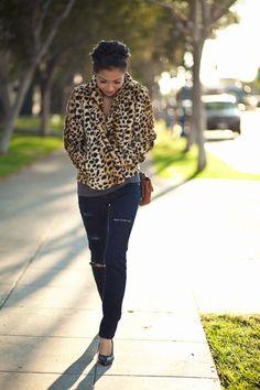 6fd40214f83e Cheetah coat  amp  Mulberry Lily Cheetah Coat
