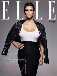 Kim Kardashian gets dressed for Elle UK via @stylelist | http://aol.it/1xSjnN6