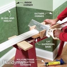 How to Install Venetian Wall Plaster and Chair Rail Molding
