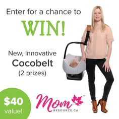 Tired of lugging your baby around in a car seat? Use a comfortable and convenient Cocobelt! We're giving away 2 Cocobelts to two lucky mamas! Visit our website at momresource.ca/community/cocobelt-giveaway/ to enter now. Contest ends on February 28th full details online. Good luck!#momresourceca #cocobelt #Oyaco #momblog #babygiveaway #contest #giveaway #freebies #freestuff #mommyblog #momblog #parenting #parentinghack #contestalert
