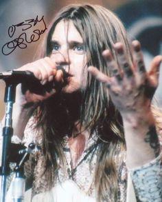 Ozzy Osbourne, Black Sabbath singer.