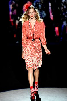 Anna Sui Spring 2012 Ready-to-Wear Collection Photos - Vogue