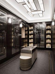 Nov 2019 - Wardrobe design by Carlisle Design Studio. Home Room Design, Dream Home Design, Home Interior Design, Wardrobe Room, Wardrobe Design Bedroom, Luxury Wardrobe, Luxury Closet, Walk In Closet Design, Closet Designs