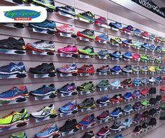 At #TopGearSport, we stock a wide range of #running shoes to suit each individuals taste and style. Visit us in-store or contact us on 044 873 0626.