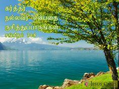 கர்த்தர் நல்லவர் என்பதை ருசித்துப்பாருங்கள். சங்கீதம் 34:8