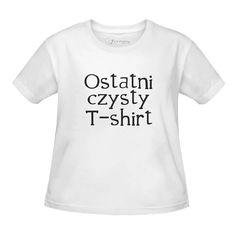 Koszulka dla dziecka Ostatni czysty t-shirt  www.jakamama.pl