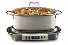 This Large capacity Versatility Cooker is perfect for family-sized meals. The 6 quart oblong cooking vessel doubles as serving dish. West Bend Slow Cooker, Best Slow Cooker, Slow Cooker Recipes, Crockpot Recipes, Cooking Recipes, Yummy Recipes, Slow Cooking, Healthy Cooking, Cooking Games