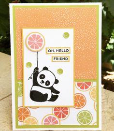 Party Pandas, Tutti-frutti DSP, Stampin' Up, Sale-a-bration 2018