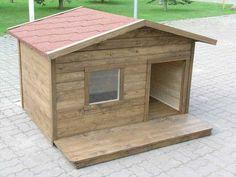 Steg for steg beskrivelse av byggingen av kenneler med sine egne hender Animal House, Dog Houses, Dog Life, Carpentry, Landscape Design, Cute Animals, Outdoor Structures, Puppies, Architecture