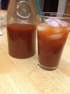 Kimchi Bloody Mary! This is a wonderful fiery take on a Bloody Mary!