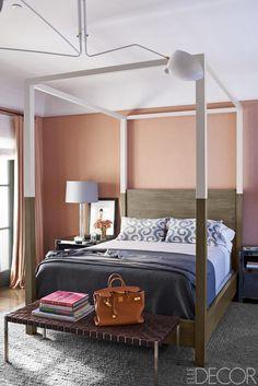 A custom-made bed an