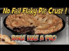 I'll show you how to make a no fail pie crust pastry dough in a few simple steps ! In this recipe I use Crisco vegetable shortening which will produce a flaky pastry. Step by step EASY instruction as always. At the end of this video, there's a link that will go directly to a new video where we use the pie dough we just made so make sure to watch that video also, if you wish to see me making a classic apple pie.    Thank you for re-pinning ! I appreciate it ! And thanks for watching :-)