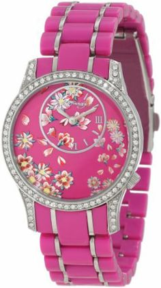 Ed Hardy Women's JA-PK Jasmine Pink Watch Ed Hardy. $59.29. Roman numeral hour markers. Water-resistant to 50 M (165 feet). Don ed hardy flower tattoo. Swarovski crystals on bezel. Hardened mineral crystal; 2 year limited warranty. Save 58% Off!